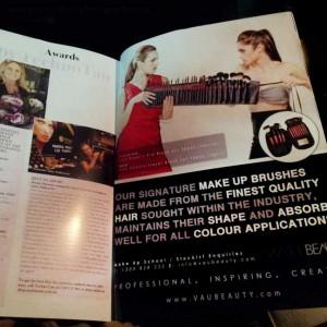 Fashion Magazine Beauty Biz Spread