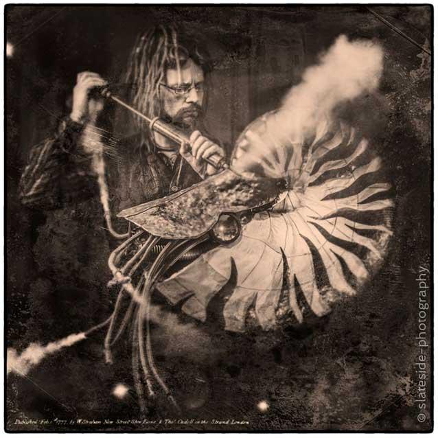 Steampunk Portrait Joe Ballard uk Sculptor