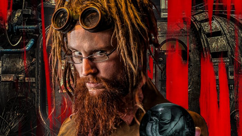 Steam Punk Portrait – Red Future